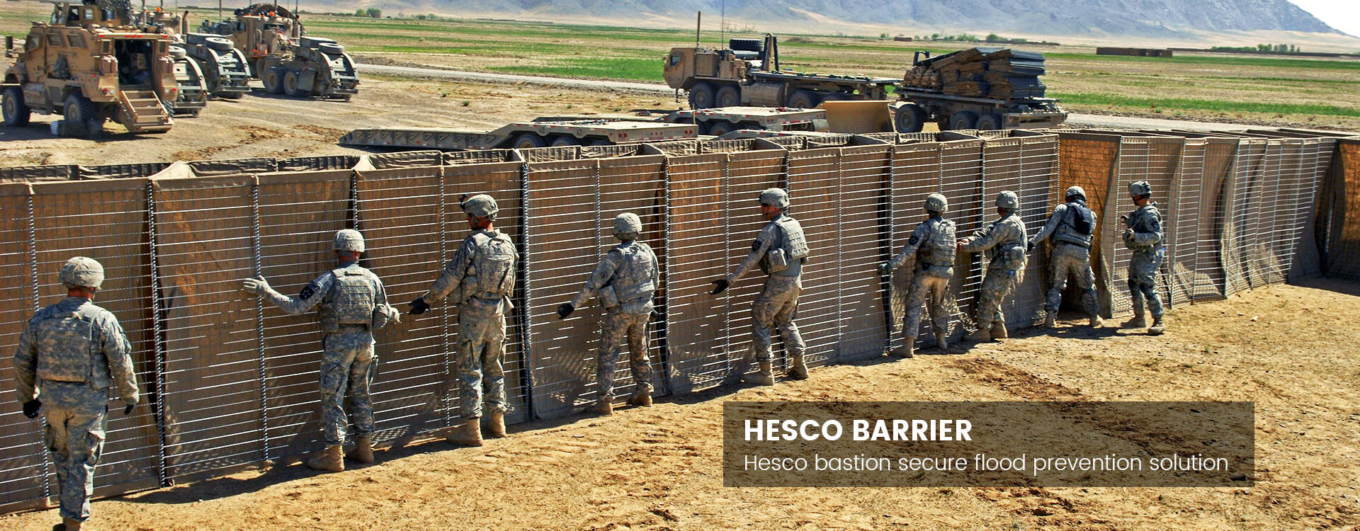 Hesco Barrier